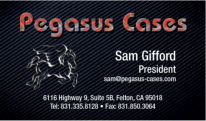 Pegasus Cases USA, Manufacturers of Carbon Fiber Cases
